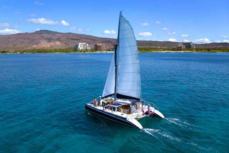 Catamaran Sail and Snorkel