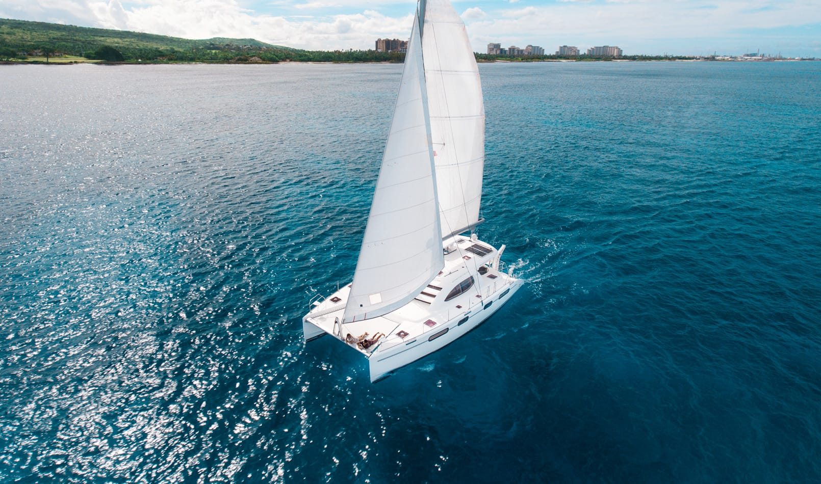 Catamaran Snorkeling <br />and Sailing