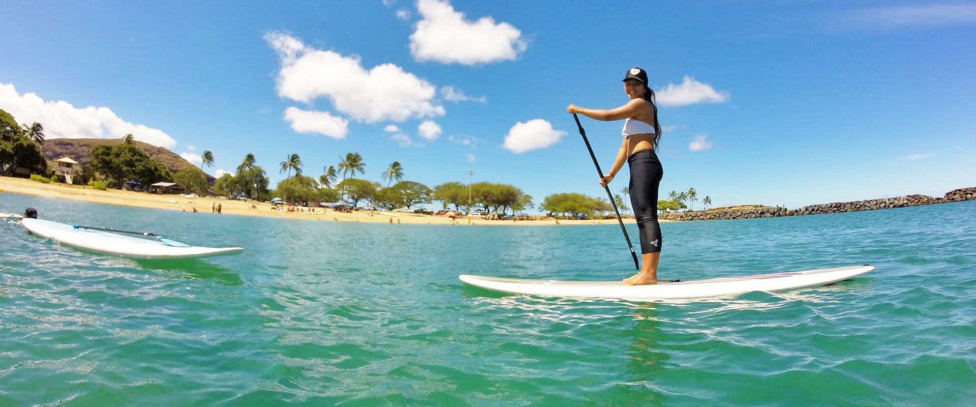 Learn the basics of stand up paddle boarding