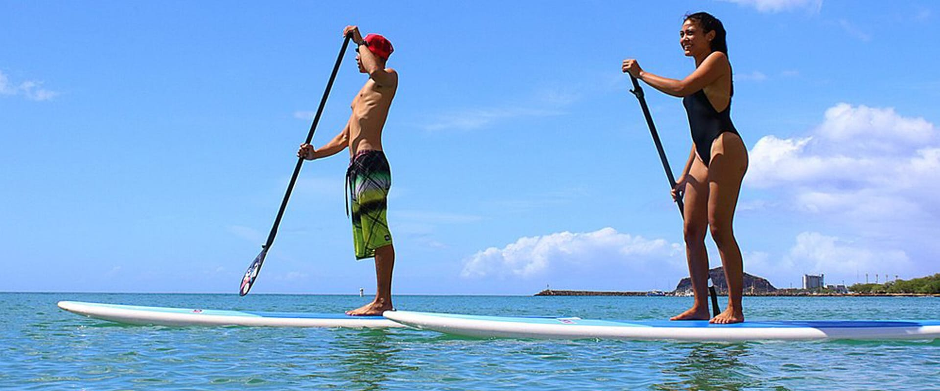 Stand Up Paddle boarding is a great way to explore the ocean