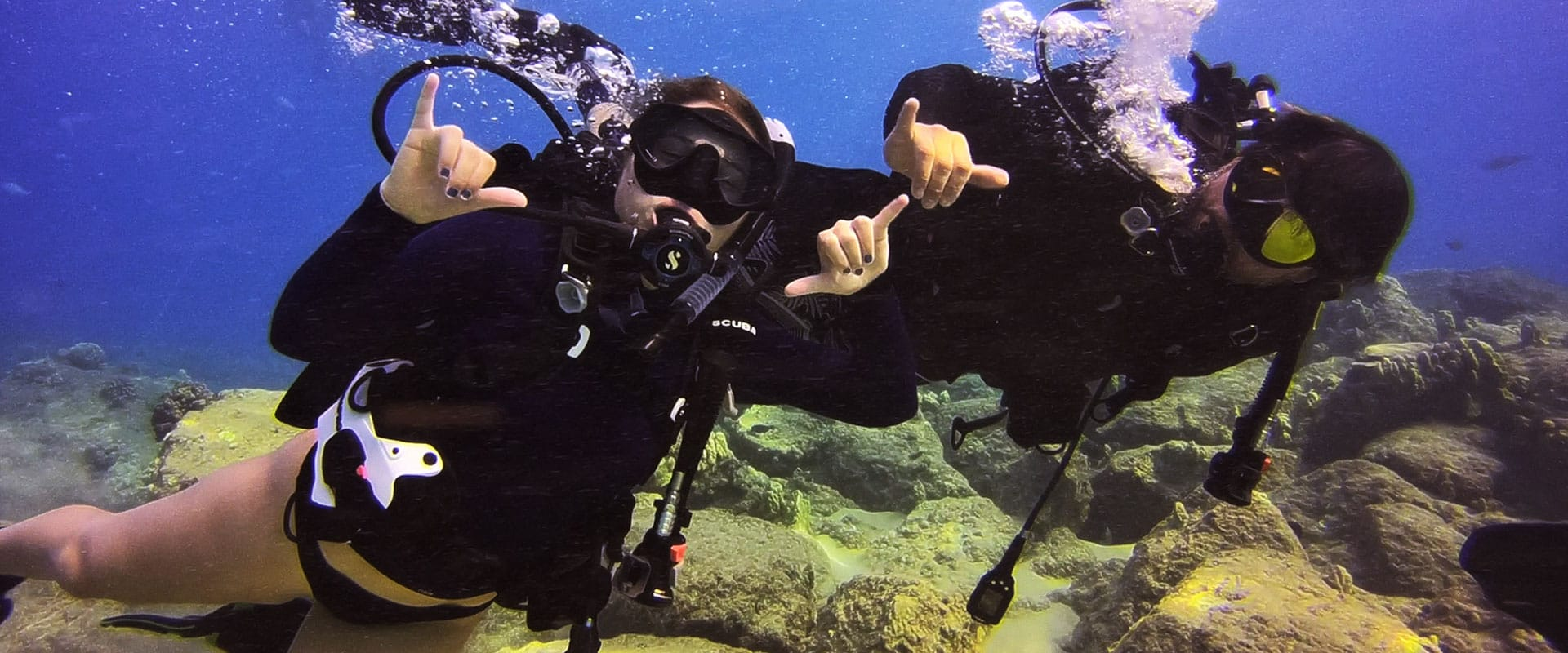 Experience Underwater by a Certified PADI Instructor