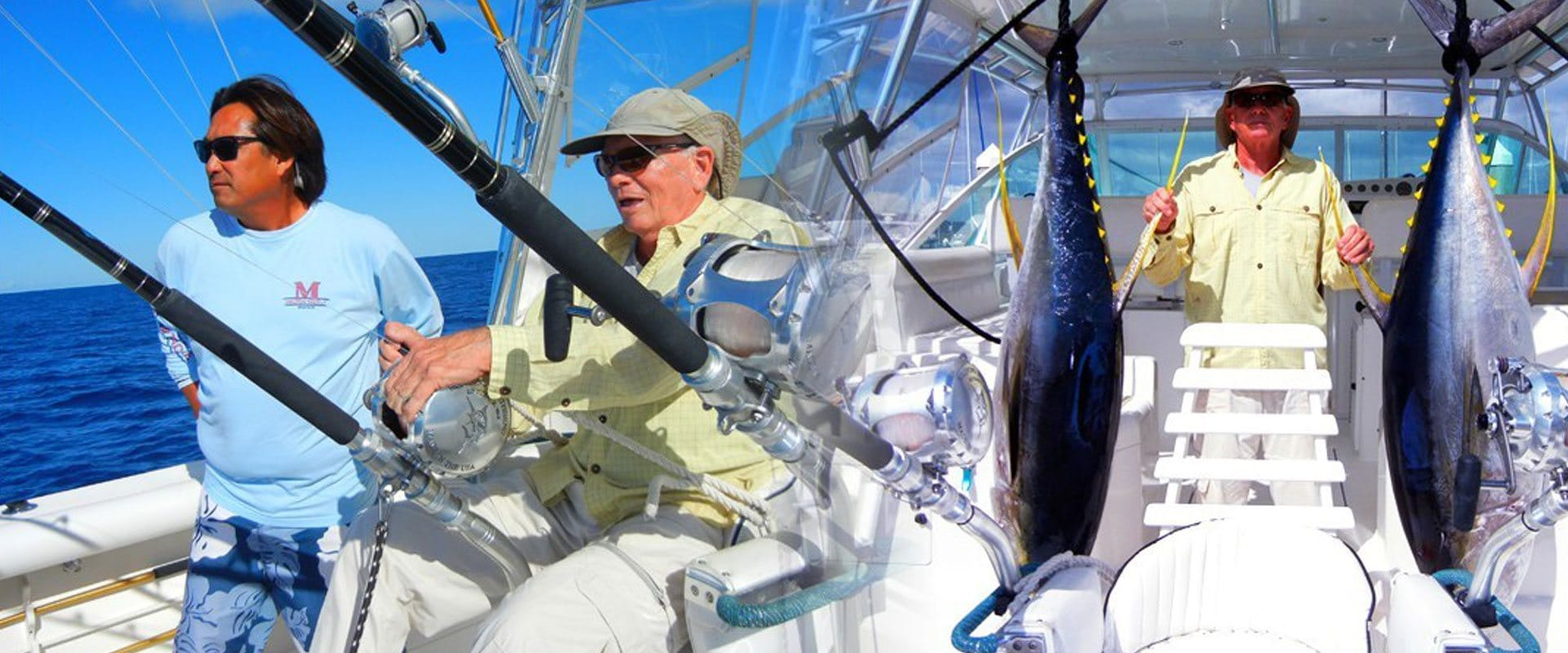 Action packed Hawaii Sport Fishing Charter