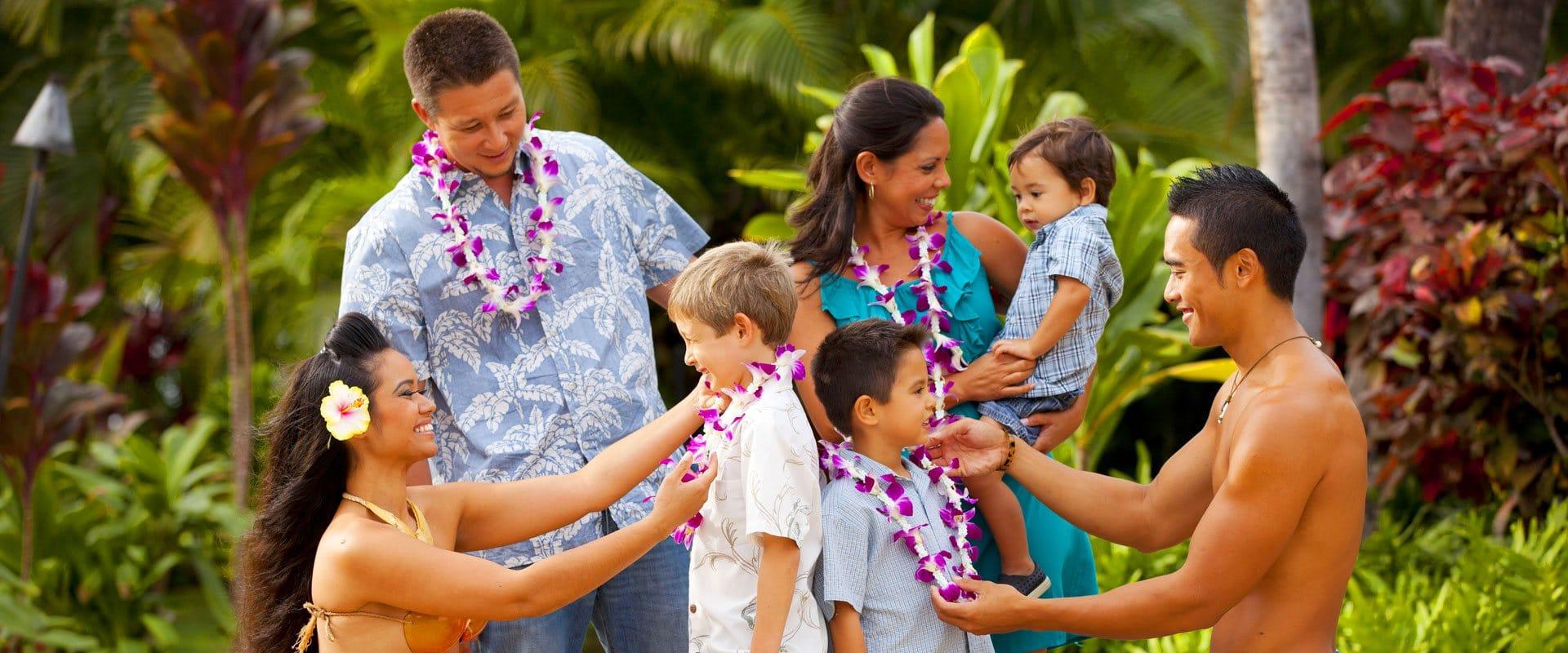 Hawaiian Shell Lei Greeting Upon Arrival
